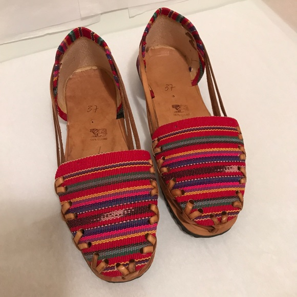 7f14ba5d8e18e8 Huaraches Handmade Leather